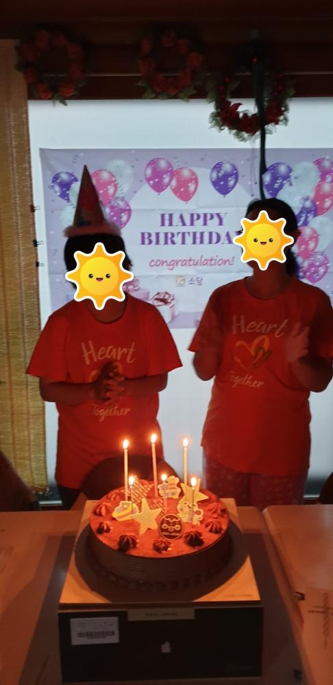 상반기 생일파티